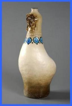 Vase à tête de coq (1967).